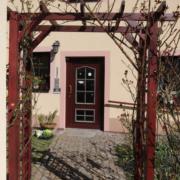 Ferienwohnung Köst Hainichen, Terrasse